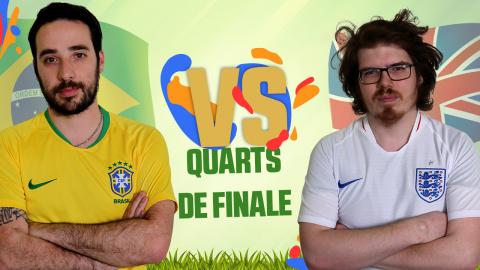 CDM JV 2018 : Brésil (Rivaol) - Angleterre (Louis) - (1/4 de finale)
