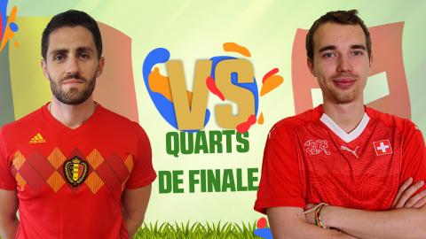 CDM JV 2018 : Belgique (Lâm) - Suisse (Antistar) - (1/4 de finale)