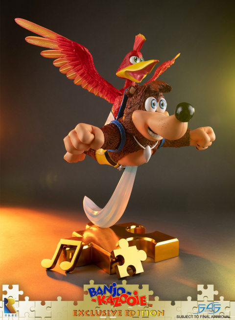 Banjo-Kazooie : Une luxueuse figurine à venir chez First 4 Figure