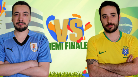CDM JV 2018 : Uruguay (Anagund) - Brésil (Rivaol) - (Demi-finale)
