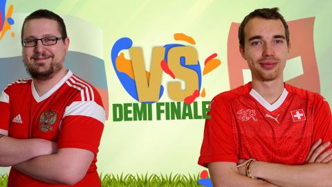 CDM JV 2018 : Russie (Kaaraj) - Suisse (Antistar) - (Demi-finale)
