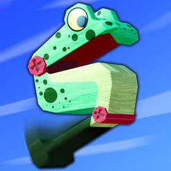 Wobble Frog Adventures sur iOS