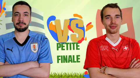 CDM JV 2018 : Uruguay (Anagund) - Suisse (Demow) - (Petite Finale)