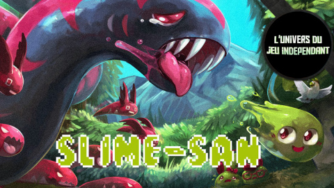 Slime-San : Dans la veine de Super Meat Boy !