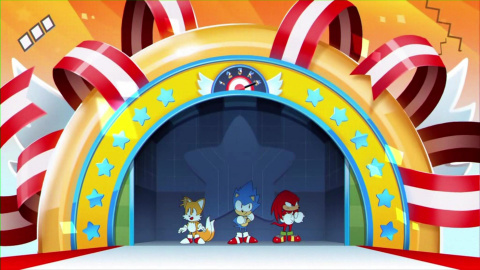 Sonic Mania Plus : Mighty et Ray en action