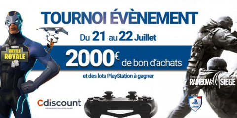 PS League : 2 000€ à gagner ce week-end !
