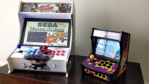 Mise à jour de notre dossier borne arcade : Fabrication d'un modèle mini sous Shield TV