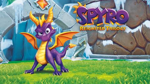Spyro tout feu tout flamme dans Reignited Trilogy