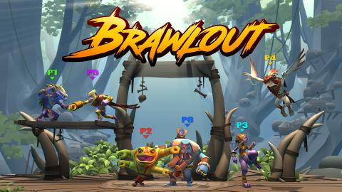 Brawlout présente ses nouveaux personnages.