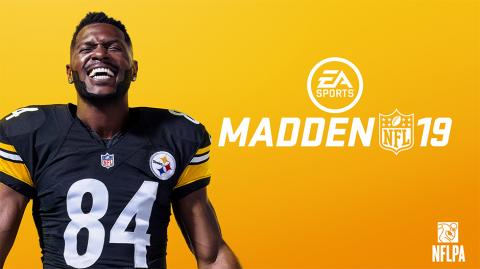 Antonio Brown sera l'égérie de Madden NFL 19