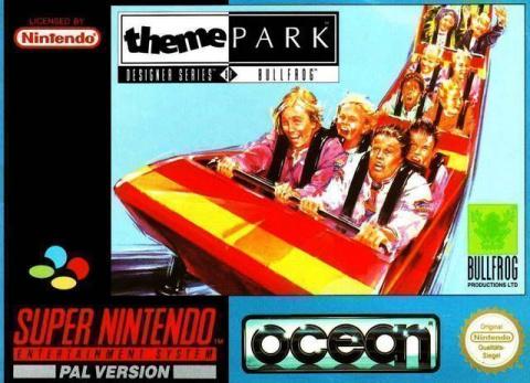 Theme Park sur SNES