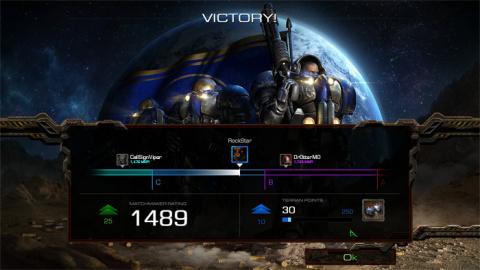 Starcraft Remastered : un système de classement revu avec le patch 1.22