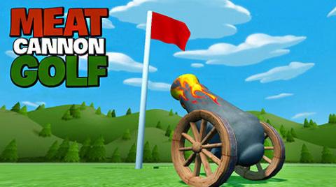 Meat Cannon Golf sur iOS