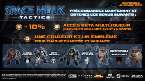 Space Hulk Tactics : le tactical débarquera ses troupes le 9 octobre