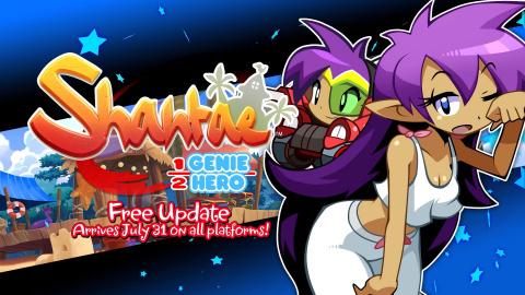 Shantae Half-Genie Hero : un costume inédit et une transformation grâce à une mise à jour