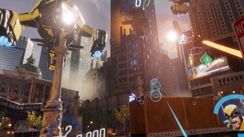 MARVEL Powers United VR : De grands pouvoirs impliquent de petites responsabilités