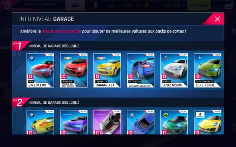 Tier list des voitures