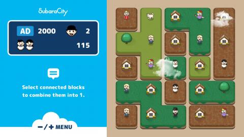 SubaraCity : Un puzzle-game à venir ce mois-ci sur Switch