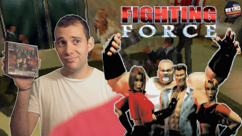 Retro Découverte : Fighting Force