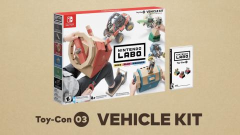 Nintendo Labo : Kit Véhicules sur Switch