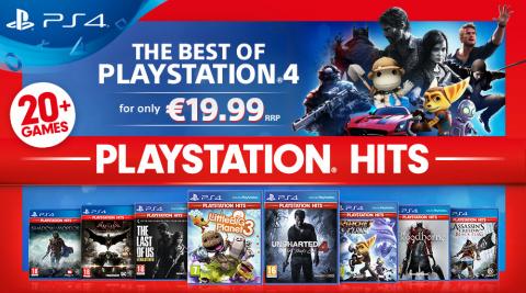 PS Store : Découvrez PlayStation Hits pour des classiques à petits prix