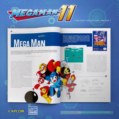 [MàJ] Mega Man 11 : une édition collector PS4 et Xbox One par Pix'n Love