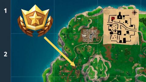 Fortnite, guide défis semaine 5 saison 5 : emplacement des failles, frapper du tee au green de golf, carte au trésor Snobby Shores