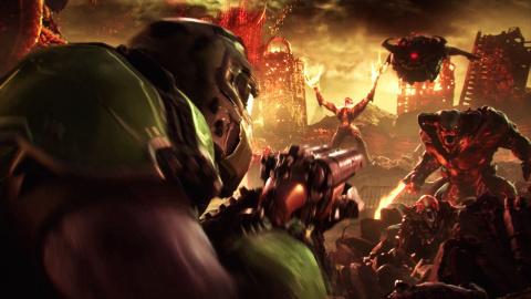Doom Eternal : 7 minutes de gameplay sur consoles et PC