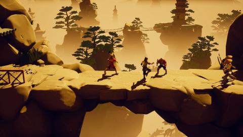 Le beat'em up 9 Monkeys of Shaolin date sa sortie