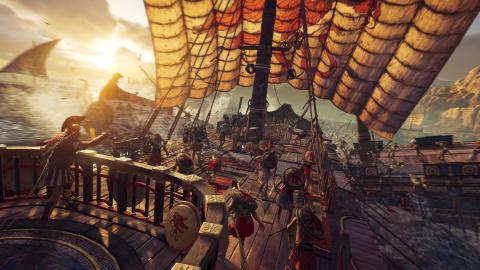 Assassin's Creed Odyssey : Ubisoft nous parle des batailles navales