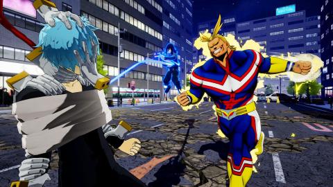 My Hero One's Justice : Du gameplay pour présenter les attaques ultimes de chaque personnage