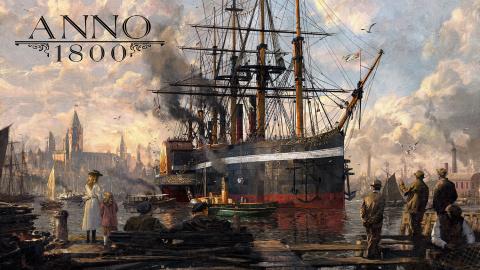 Gamescom 2018 : Anno 1800 - Construisez l'avenir dès février 2019