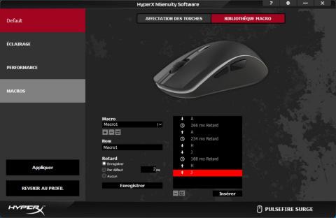 Test HyperX Pulsefire Surge : Un périphérique haut en couleurs