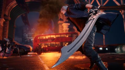 """Devil May Cry 5, le retour fracassant des """"fils"""" de Sparda - gamescom 2018"""