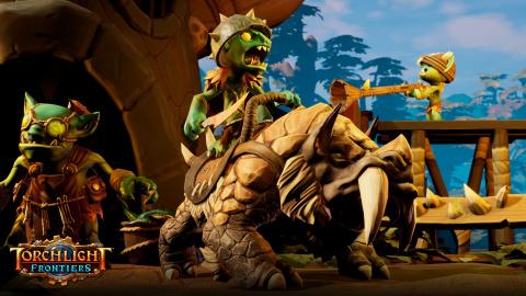 Torchlight Frontiers, le hack & slash se mute en MMO - gamescom 2018