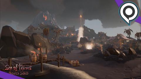 Sea of Thieves : Présentation de Forsaken Shores - gamescom 2018