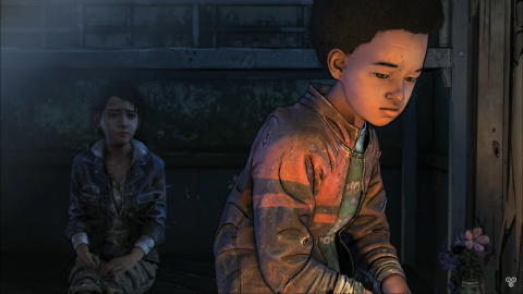 The Walking Dead : The Final Chapter : Conversation entre Clem et A.J à la PAX
