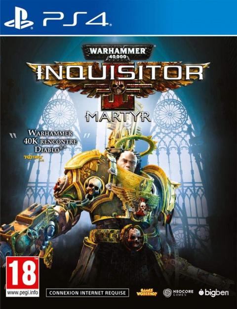 Warhammer 40.000 : Inquisitor - Martyr sur PS4