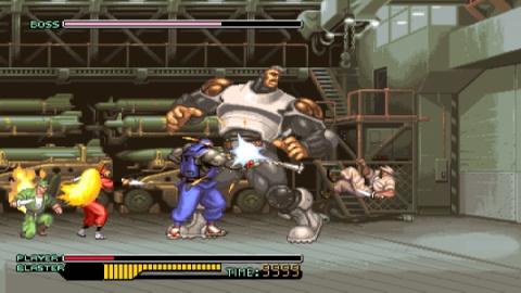 The Ninja Warriors : Once Again sortira aussi en Europe en version physique