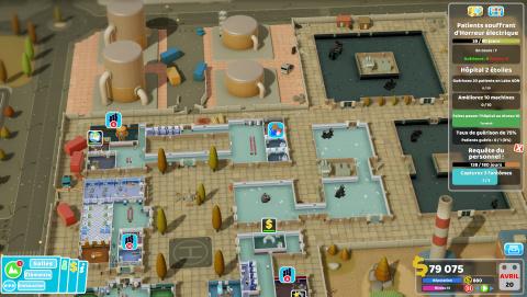 Two Point Hospital : la nostalgie a du cachet