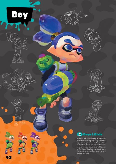 L'ouvrage The Art of Splatoon arrive en novembre aux éditions Soleil Manga