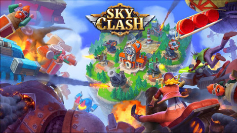 Sky Clash : Lords of Clans 3D sur iOS