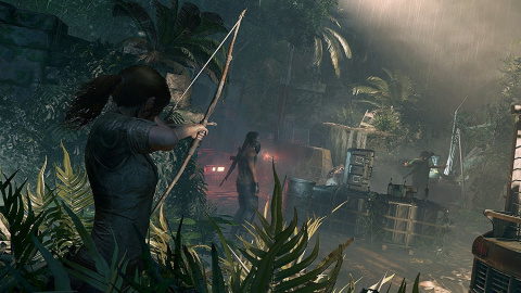 Shadow of the Tomb Raider : Lara en mode Infiltration