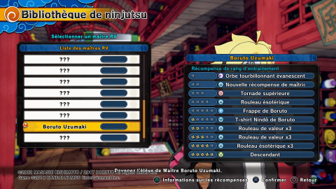 Personnages mentors - Astuces et guides Naruto to Boruto