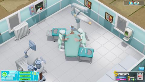 Two Point Hospital : une mise à jour va vous simplifier la vie
