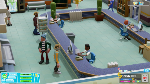 Two Point Hospital contracte un accès gratuit  temporaire sur Steam