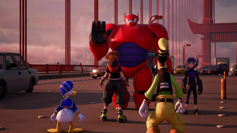 TGS : Big Hero 6 s'invite dans Kingdom Hearts III