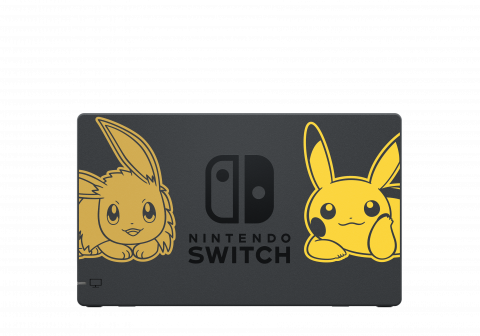 Des packs Let's Go Pikachu / Evoli en édition limité — Nintendo Switch