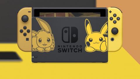 Pokémon Let's Go, Pikachu / Évoli : deux packs Nintendo Switch en édition limitée