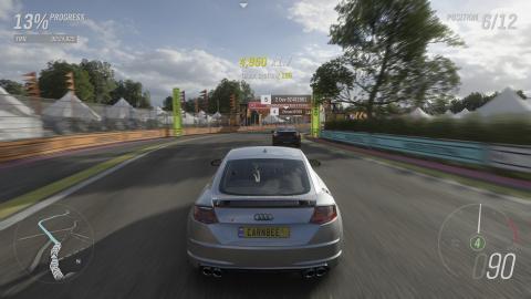 Forza Horizon 4 : Une course pour la première place